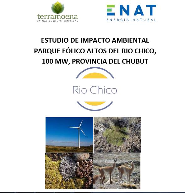 Convocatoria a Audiencia Pública del Proyecto Parque Eólico Altos del Río Chico presentado por ENAT S.A