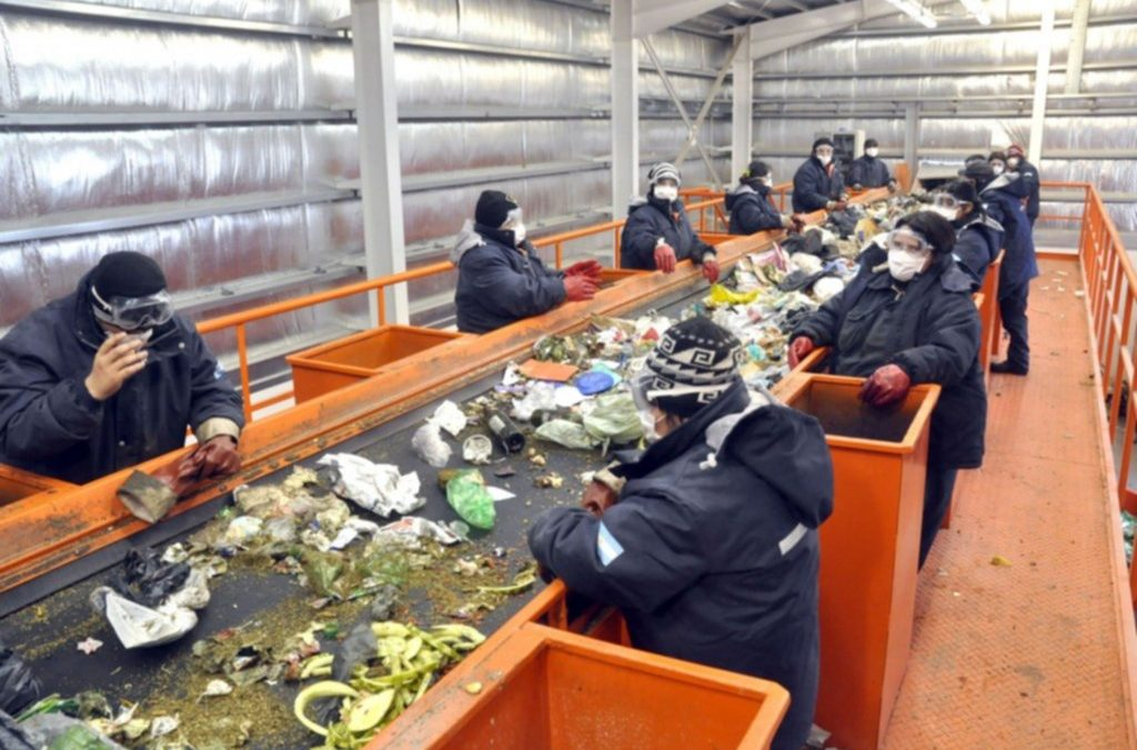 El consorcio Girsu Virch Valdés comienza a recuperar los residuos con protocolo de prevención de covid 19