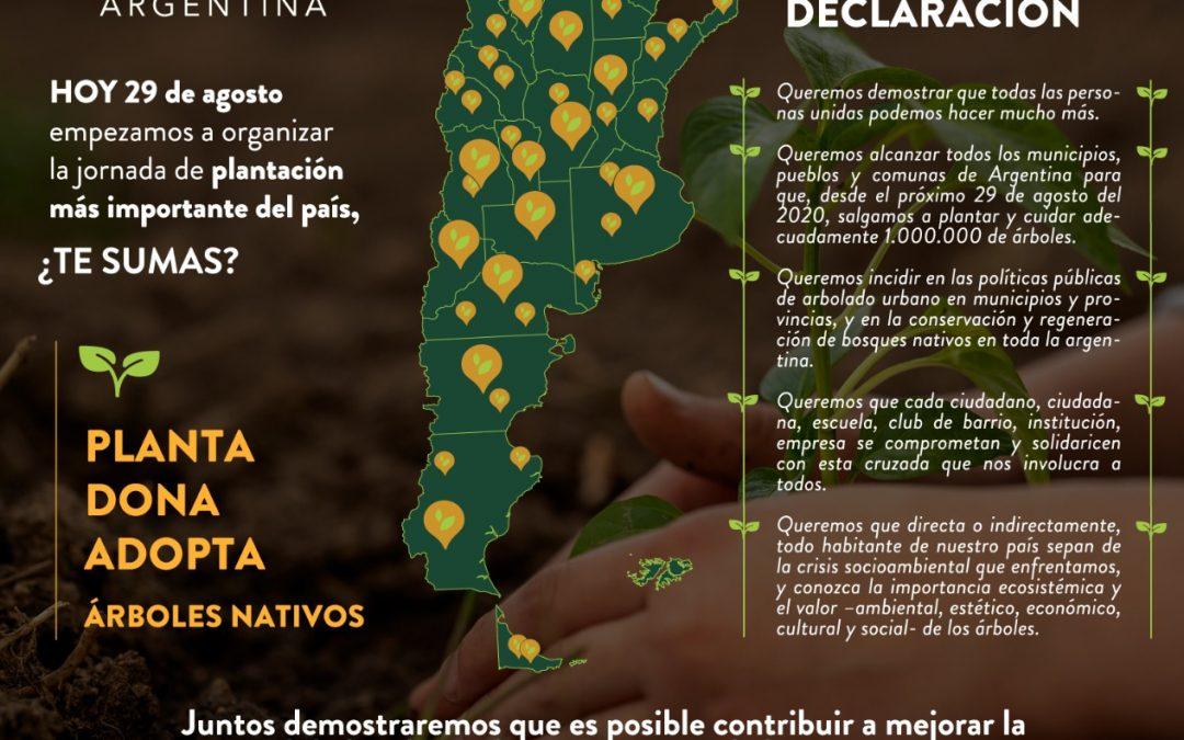 29 de agosto, en el #DíaDelArbol