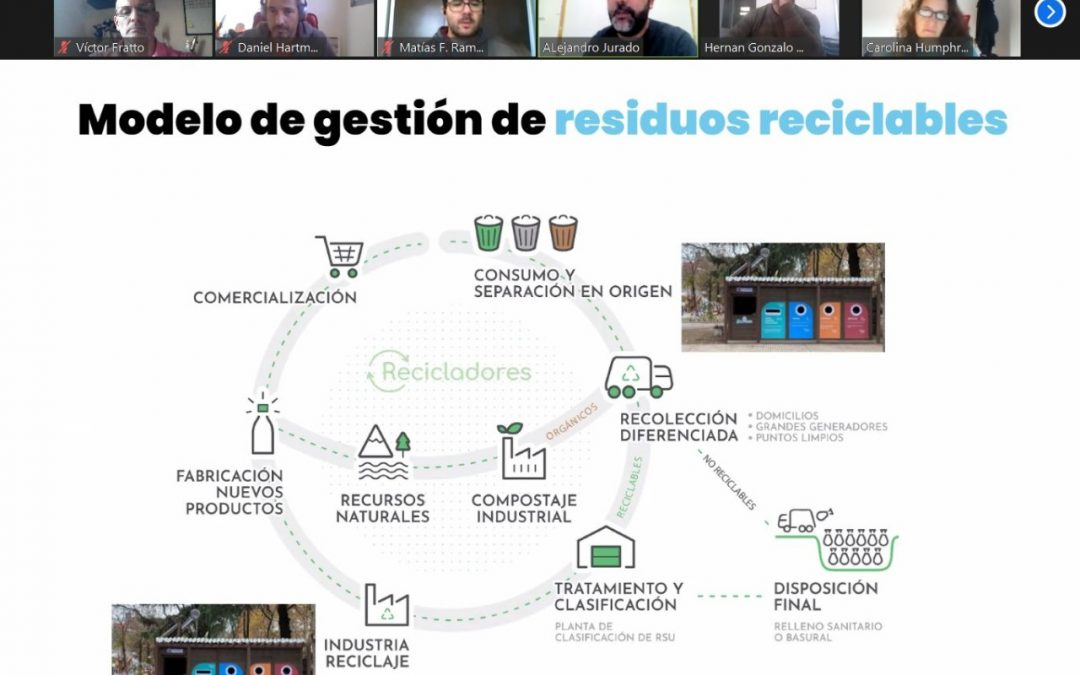 Ambiente capacitó a municipios en la gestión de residuos de los Ecopuntos