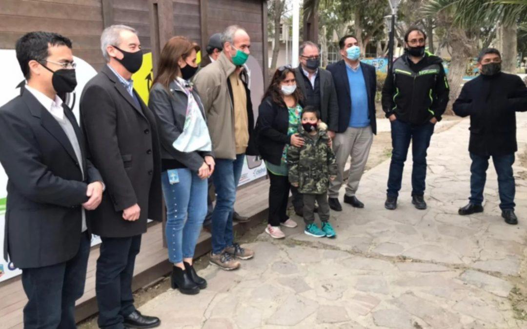 El Gobierno del Chubut inauguró en Comodoro un nuevo Ecopunto Sustentable para recuperación de residuos reciclables