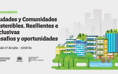 """Conversatorio sobre """"Desafíos y oportunidades para el desarrollo de ciudades y comunidades sostenibles, resilientes e inclusivas"""""""