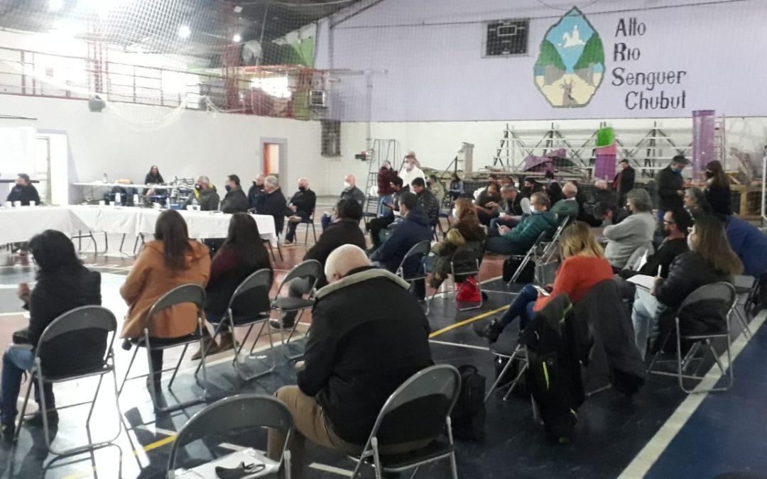 Arzani participó de  la Primer Asamblea del Consejo de Gobierno del Comité de Cuenca del Río Senguer