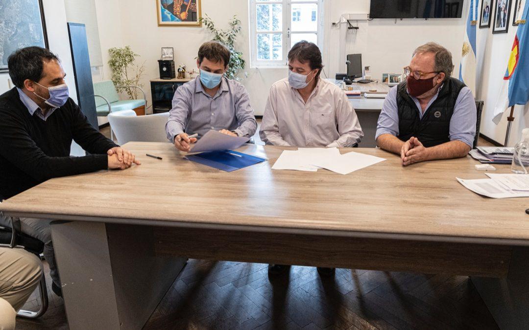 Ambiente actuará como veedor del Acuerdo firmado por Comodoro Rivadavia y Rada Tilly