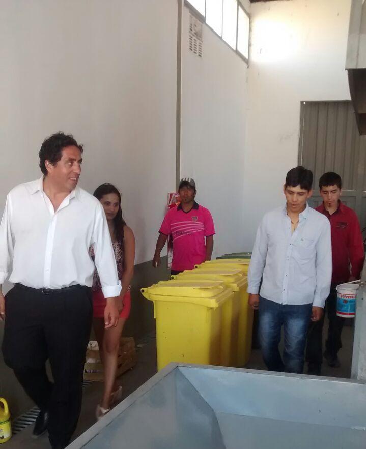 Ambiente supervisó el funcionamiento de la Planta de Separación de Residuos de Gobernador Costa