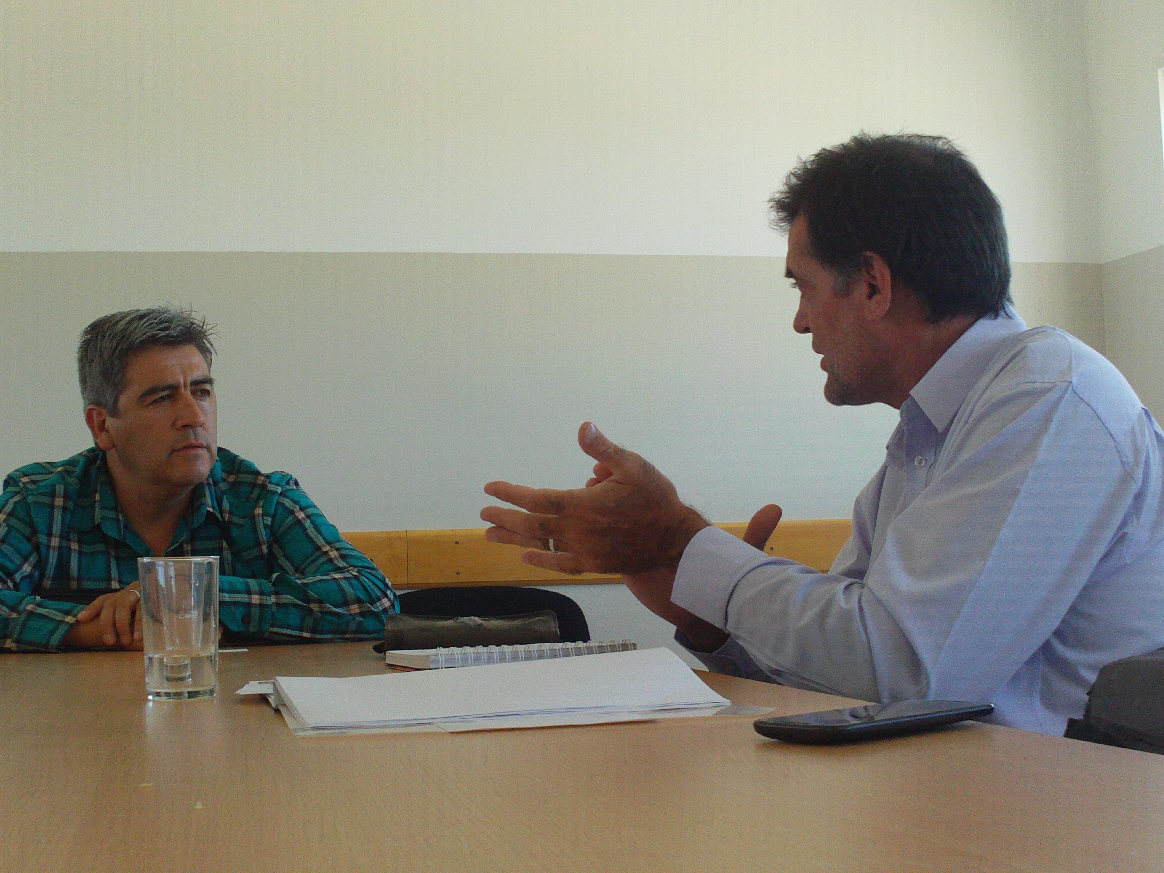 Ambiente acompañará a Gobernador Costa en la mejora de la gestión ambiental del matadero municipal.