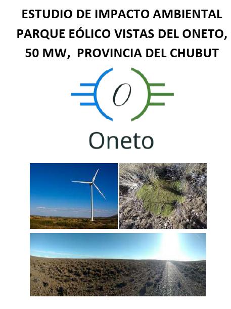 Convocatoria a Audiencia Pública del Proyecto Parque Eólico VISTAS DEL ONETO presentado por la empresa ENAT S.A.