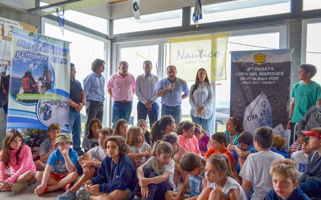 Ambiente inició una nueva etapa de monitoreo y limpieza en playas de la zona sur provincial